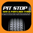 Pit Stop tyres, Derby, long eaton print and design